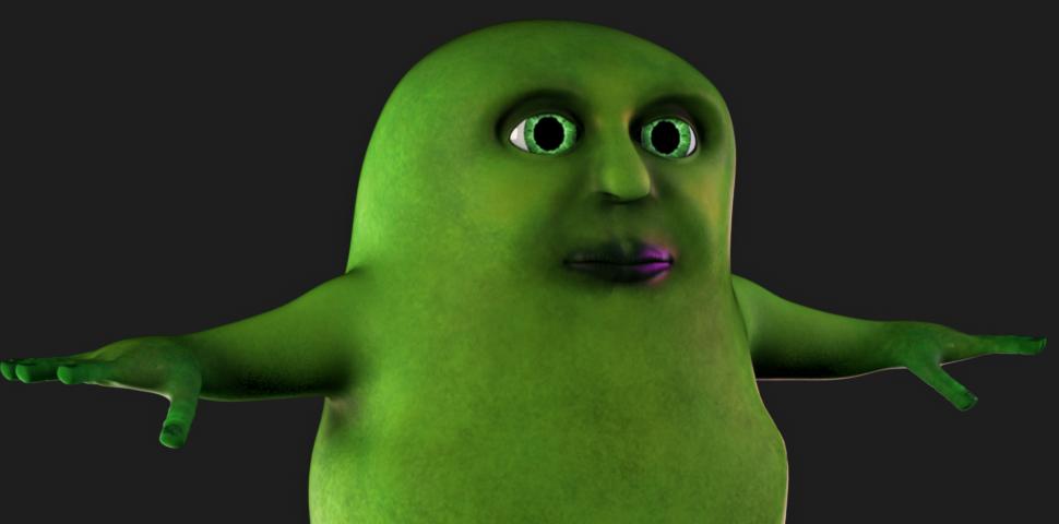 Yuck Character Design : Character model muck yuck welcome to spookville