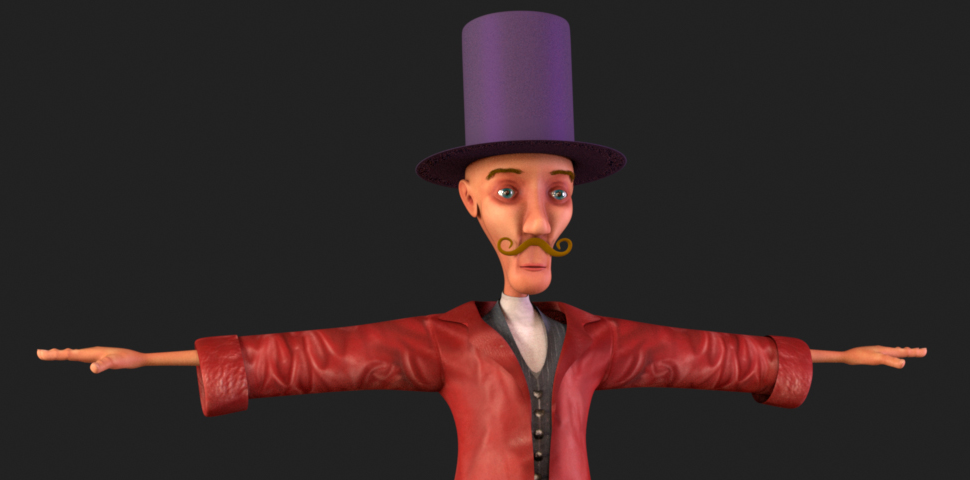 Yuck Character Design : Character design the ringleader welcome to spookville